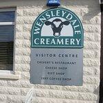 Creamery sign