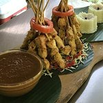Delicious Satay chicken we prepared.