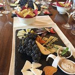delicious platter to go with lovely wines