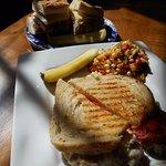 Tuna melt lunch special