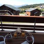 Petit déjeuner en terrasse !