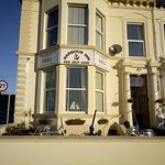 Front of the B & B in the morning sunshine