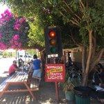 Most remote traffic lights