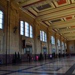 Inside Union Station....quite cavernous