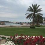 Nice setting area along the corniche