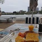 Buffet breakfast at the Brasserie on the River - Stamford Plaza Hotel