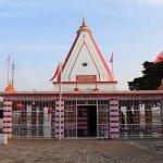 Kunjapuri Temple Front Side