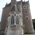 L'arrière de la Partie Habitée du Château et sa Chapelle