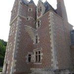 La partie Habitée du Château aux briquettes rouges