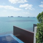 View from Oceanview Pool Villa
