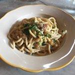 Spaghetti alla Carbonara (fresh pasta)