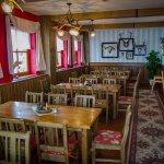"""Jagdzimmer im Restaurant """"Erzgebirgsstuben"""""""