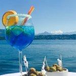 Bleu Lacustre - notre cocktail