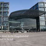 InterCityHotel Berlin Hauptbahnhof is one block away from the station