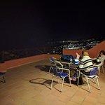 Disfrutando de nuestra terracita