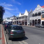 Simonstown out the front of the restaurant