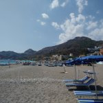 Book the bus to the private beach area at Mazzeo