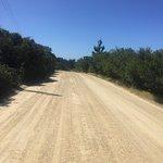 Straße zum Aussichtspunkt