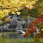 The dragon gate waterfall