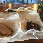 Great Texas BBQ at a great price. I had brisket, turkey, coleslaw, potato salad and two beers fo