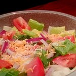 Mixed Greens & Casear Salads, topped with Grilled Chicken, Mahi Fillet, or Seasoned Steak
