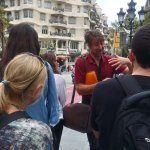 Marc our guide on the Gaudi walking tour
