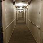 This is the hallway on the 4th floor.
