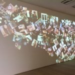 the constantly moving 'selfie' wall