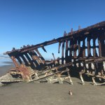 Wreck of the Peter Iredale - 1903.