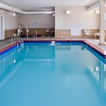 Our indoor pool and hot tub is the perfect relaxation spot.