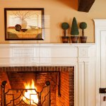 The Inn's fireplace is the most beloved part of the property.
