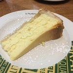 Half portion cheesecake