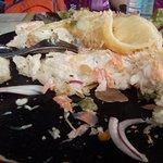 la fameuse tartine fine de pain complet!!!:! une horreur
