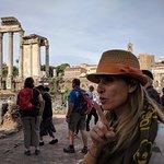 Frederica in the Roman Forum