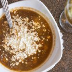 Mediterranean Lentil Soup with Feta