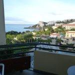 Fifth floor balcony view.