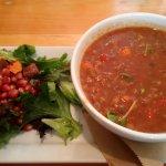 Fantastic lentil soup!