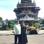 Celebrating our 32nd wedding anniversary at the Iconic Marian Shrine of Annai Velangkanni in Med