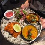 Mini Punjabi Chicken tikka plate