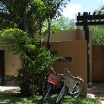 Each villa includes two bikes to use to meander the property if you wish to use them.