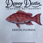 Menu cover of Dewey Destin's