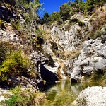 Entorno Parque Natural Font Roja Alcoy Alicante Costa Blanca.