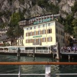 Coming in to the ferry landing after a day at Riva