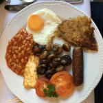 Veggie 'Full English' breakfast - superb!