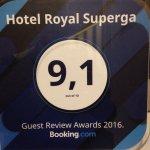 Photo de Hotel Royal Superga