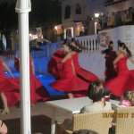 Flamenco dancers at hotel