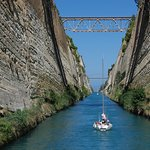 Corinthe le canal à voir