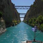 Corinthe le canal surprenant