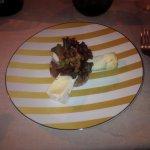 three cheese plate, so yummy