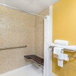 Handicap Bathroom with roll in shower